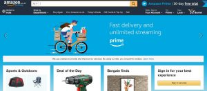 amazon online shopping site uk