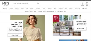 marks and spencer online shopping uk