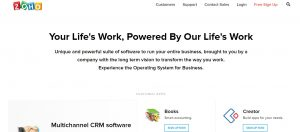 zoho crm for uk small business