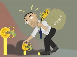 too many debts