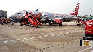 passenger in Jet2 Flight