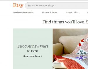 Etsy alternative for amazon