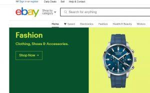 eBay online shopping site