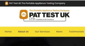 PAT test uk