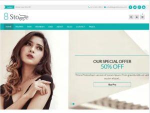 EightStore WordPress theme