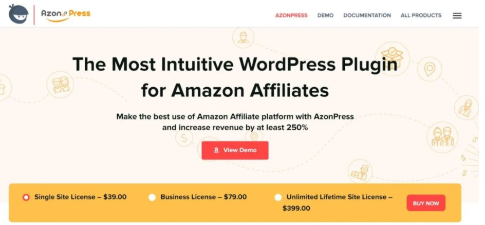 Azon Press WordPress Plugin