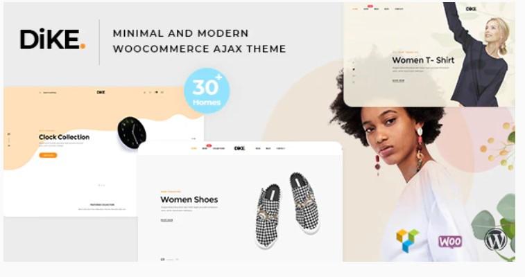 Dike theme for affiliate marketing