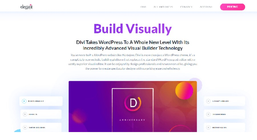 Divi theme for affiliate marketing