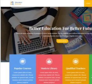 Education Business theme