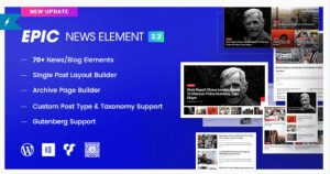 Epic news elements plugin