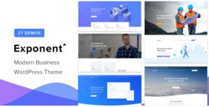 Exponent WordPress Theme
