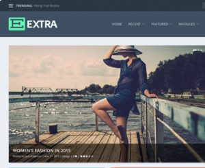 Extra WordPress Theme