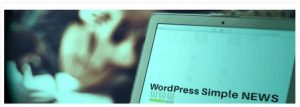 Simple news WordPress plugin