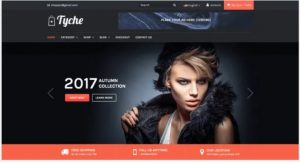 Tyche theme for ecommerce