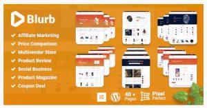 Blurb WordPress theme for affiliate marketing