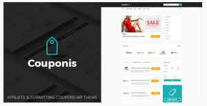 Couponis WordPress theme for Affiliate marketing