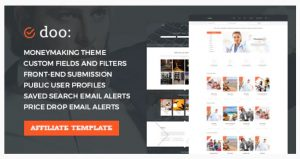 doo WordPress Theme for Affiliate marketing