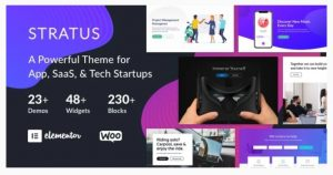 stratus WordPress theme