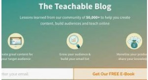 Teachable blog
