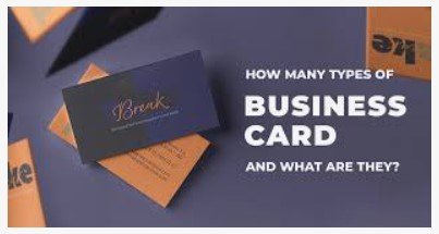 significance of business card and its types
