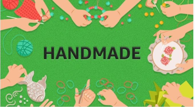 Handmade product sales on Amazon