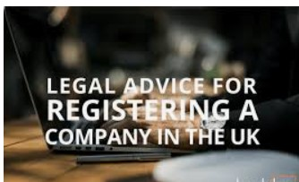 Legal advice to register company in uk