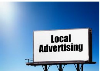 Local advertising to find clients