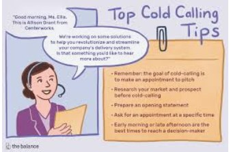 cold calling tips in bookkeeping business