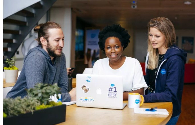 Salesforce best company