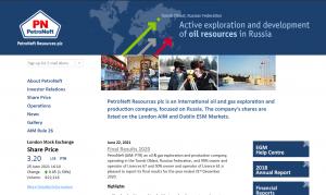 PetroNeft Resources Plc - Best UK Penny Stocks